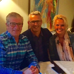 Michael with Ps Ilona & Peter Paawe, Doorbrekers, Netherlands